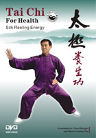 Tai Chi Silk Reeling Energy DVD for the book